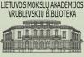 Lietuvos mokslų akademijos Vrublevskių biblioteka